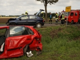 Wieder Schwerer Unfall auf B 5 im Amt Friesack – Zwei PKW in Pessin verunglückt