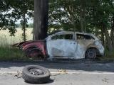 Rhein-Sieg-Kreis ++ Horror-Unfall auf B 565 bei Meckenheim-Merl ++ Person verbrennt im PKW Ferrari ++