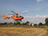 Oranienburg - Schwerer Unfall auf L 170 nahe Tierpark Germendorf - Fünf Verletzte