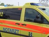 Ulm - Busunfall in der Friedrich-Ebert-Str. fordert Acht Verletzte