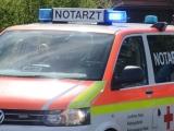 Joachimsthal ++ Schwerer Motorradunfall auf L 220 ++ Kradfahrer schleudert in Werbellinsee ++