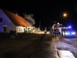 Havelland: Brand in Einfamilienhaus in Friesack-Briesen - Verletzte Hausbewohner