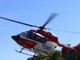 Schwerverletzte bei Unfall in Dallgow-Döberitz - Rettungshubschrauber im Einsatz