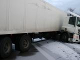 Verkehrshinweis für Kreis Uckermark: Mehrere LKW wegen Stark-Schneefall liegen geblieben