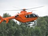 Oberhavel: Schwerer Unfall bei Stechlin-Menz - Rettungshubschrauber im Einsatz