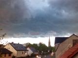 Unwetter-Gefahr im Land Brandenburg - Starke Gewitter, Großer Hagel, Starkregen erwartet